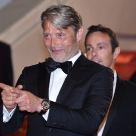 "CANNES, FRANCE - MAY 10:  Actor Mads Mikkelsen attends the screening of ""Arctic"" during the 71st annual Cannes Film Festival at Palais des Festivals on May 10, 2018 in Cannes, France.  (Photo by Dominique Charriau/WireImage)"